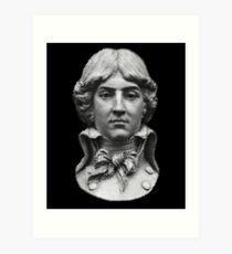 Louis Antoine de Saint-Just  portrait Art Print