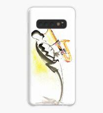 Jazz Saxophone Musician Case/Skin for Samsung Galaxy