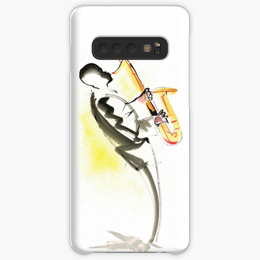 Jazz Saxophone Musician Case & Skin for Samsung Galaxy