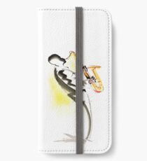 Jazz Saxophone Musician iPhone Wallet/Case/Skin