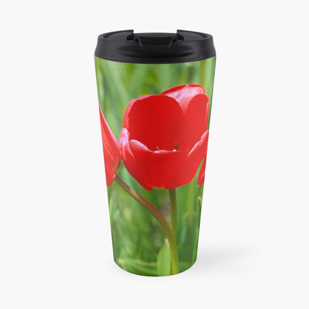 Three Tulips Travel Mug
