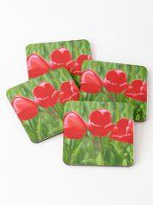Three Tulips Coasters