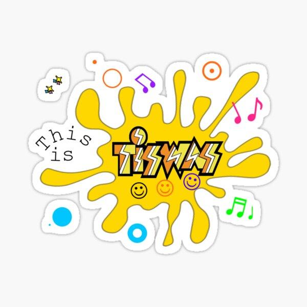 TISWAS  Fanart Sticker