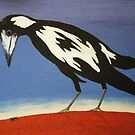 THE INQUISITIVE MAGPIE (AUSTRALIA) by RoseLangford