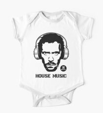 House Music One Piece - Short Sleeve
