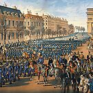 Franco Prussian War ..Prussian Army entering Paris, 1871 by edsimoneit