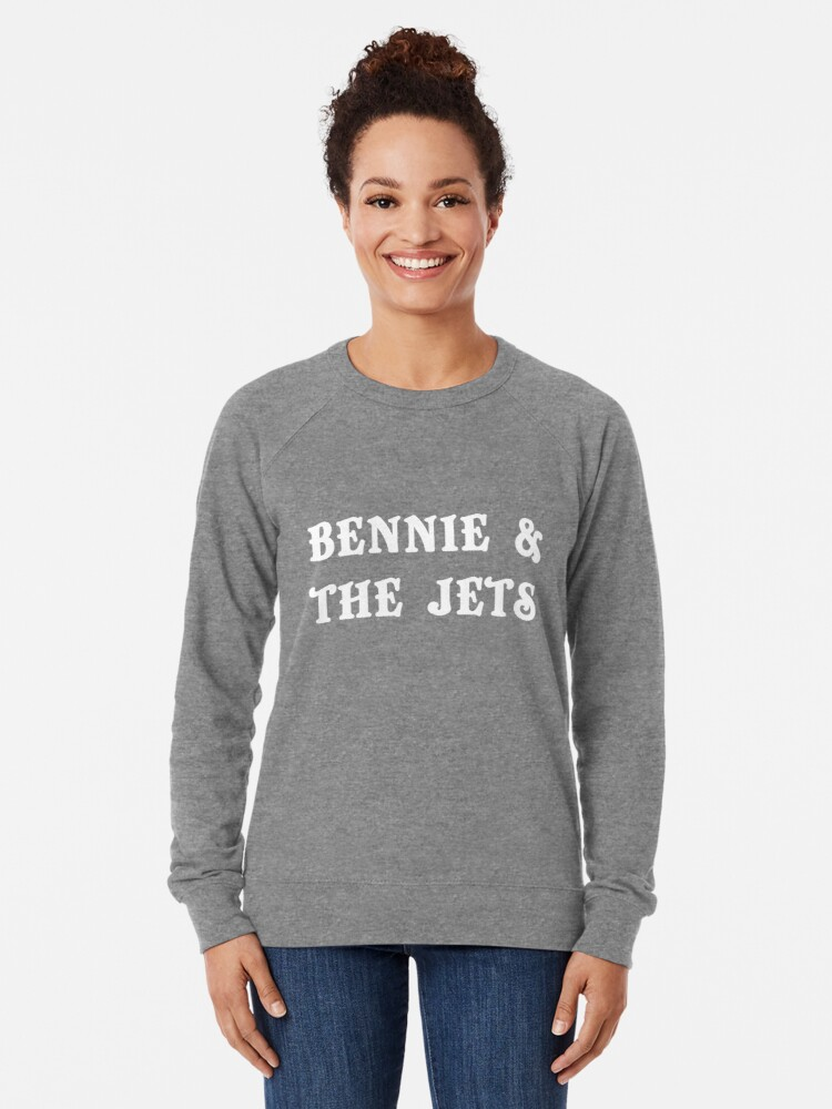 Elton John Bennie and The Jets Woman Hoodie Sweatshirt Sweaters Blouse Tops Pockets