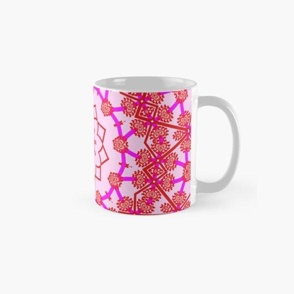 Red and pink Classic Mug