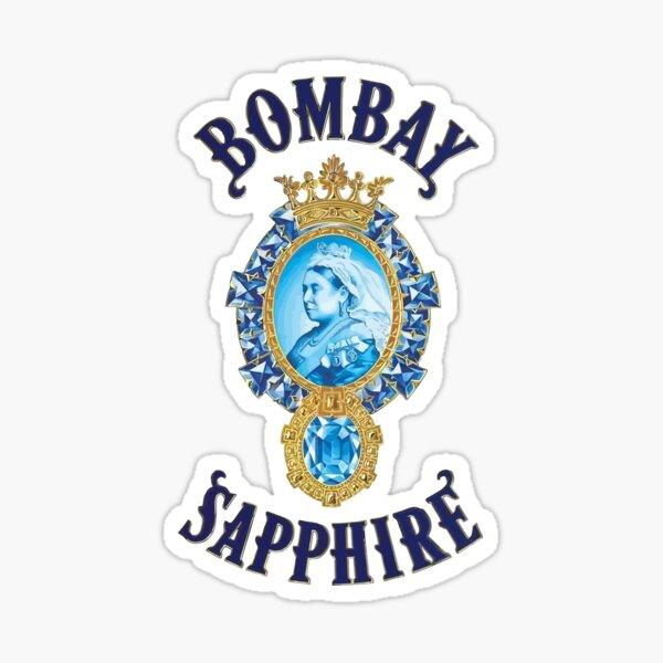 Bombay Sapphire Sticker By Cuitan Redbubble