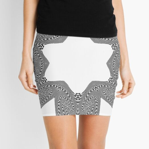 #OpArt, #visual #illusion, #VisualArt, opticalart, opticalillusion, opticalillusionart, opticalartillusion, psyhodelic, psichodelic, psyhodelicart Mini Skirt