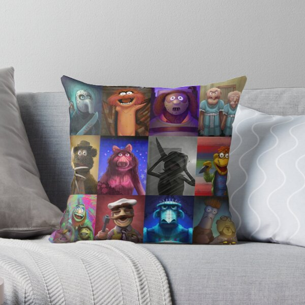 Muppet Maniacs Series 1 Throw Pillow