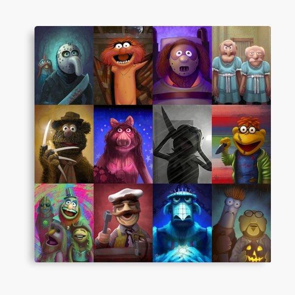 Muppet Maniacs Series 1 Canvas Print