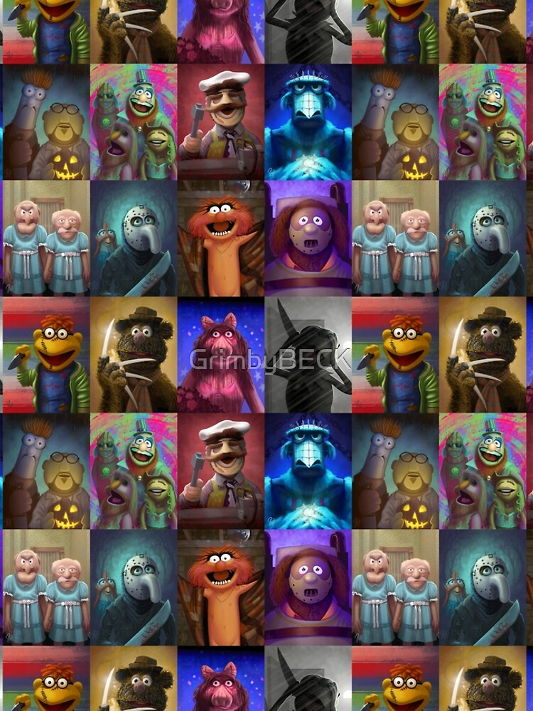 Muppet Maniacs Series 1 by GrimbyBECK