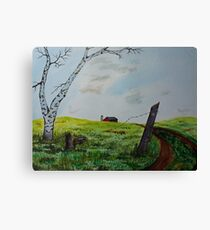 Broken Fence Canvas Print