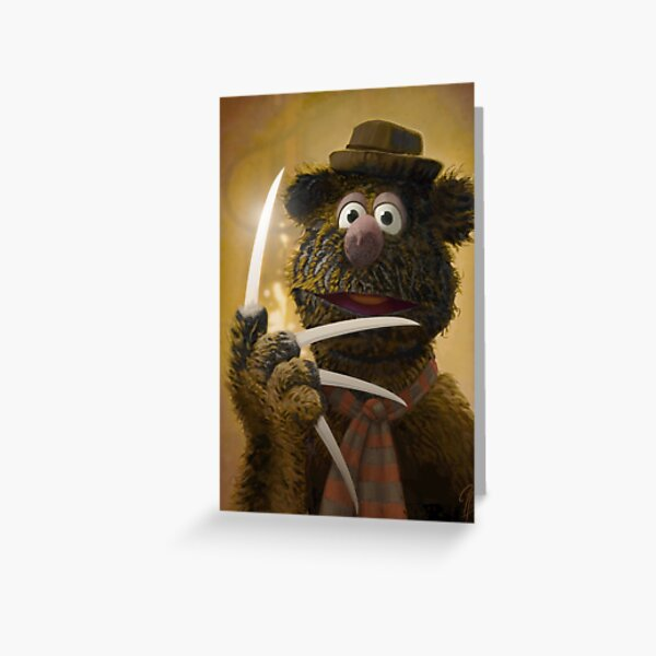 Muppet Maniacs - Fozzie Krueger Greeting Card