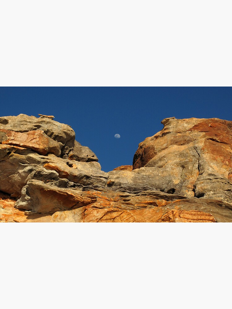 Moon in the Notch by neoniphon