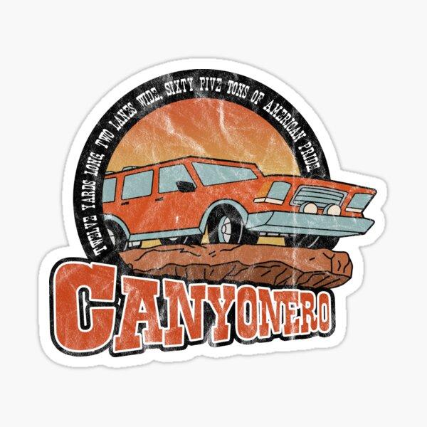 Canyonero Logo Sticker