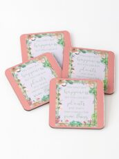 You Can't Buy Happiness But You Can Buy Plants Coasters