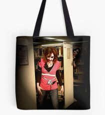 Zombrarian with attitude Tote Bag
