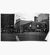 Apple Store on Market Street Poster
