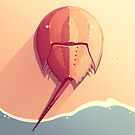 Horseshoe Crab by Tami Wicinas