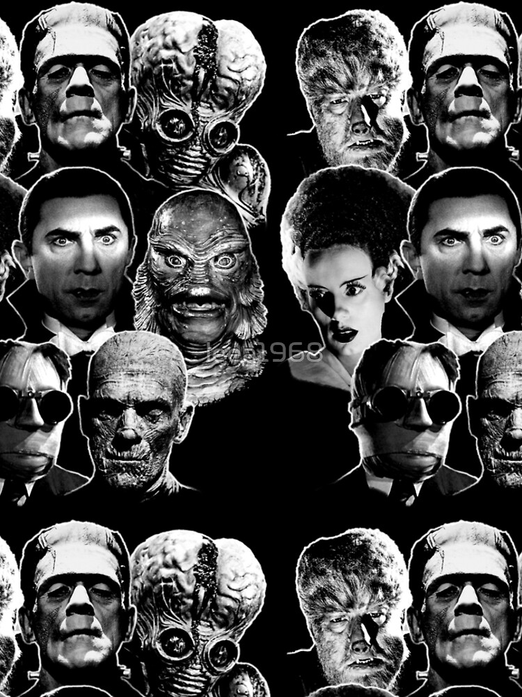 Universal Monster Gang by leea1968