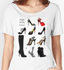 High Heels Lover Women's Relaxed Fit T-Shirt