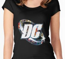 DC Comic Women's Fitted Scoop T-Shirt
