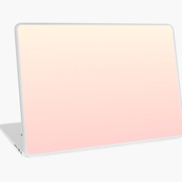 FFC9C9/FFFEE8 Peach fade Laptop Skin