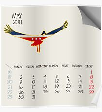 May 2011 animals Poster