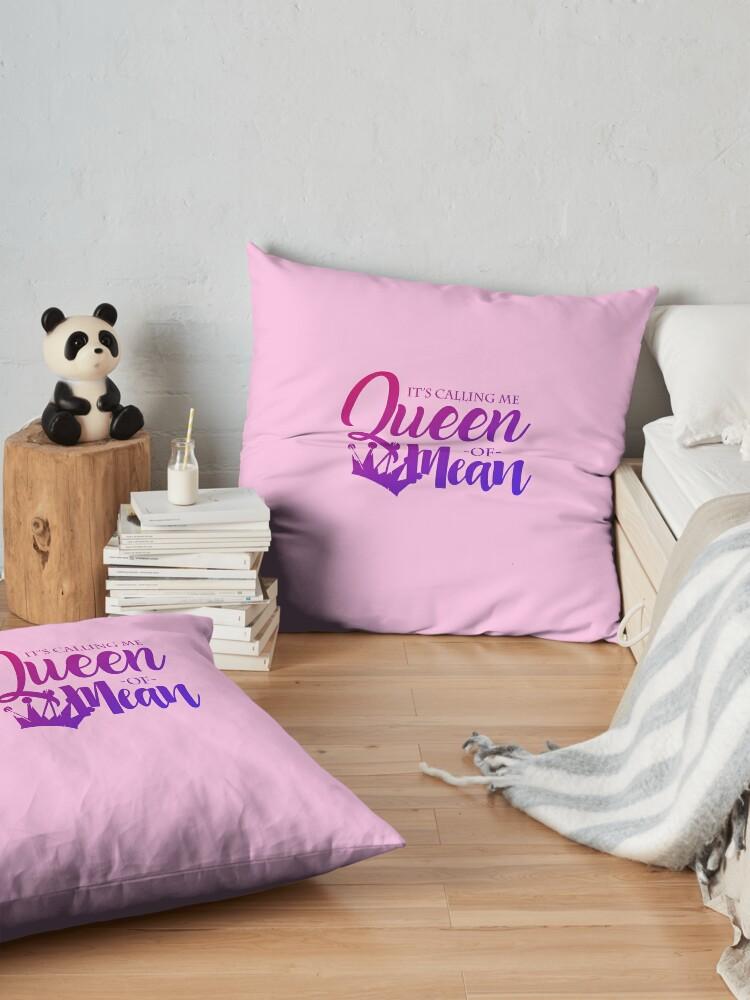 Alternate view of Descendants - Queen of Mean Floor Pillow