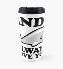 I Whale Always Love you Travel Mug