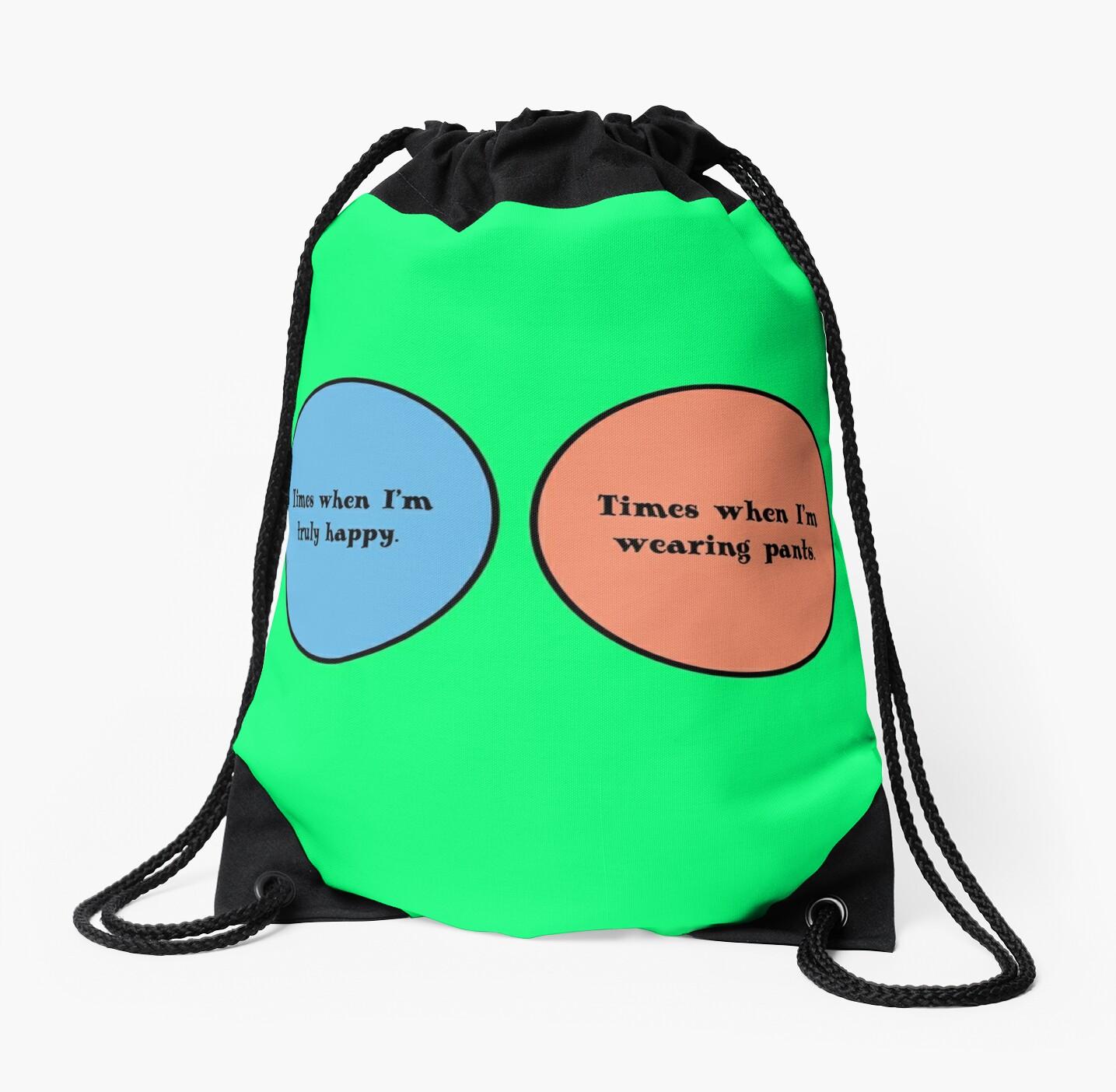 Venn diagram geek funny nerd drawstring bags by sayasiti redbubble venn diagram geek funny nerd by sayasiti pooptronica