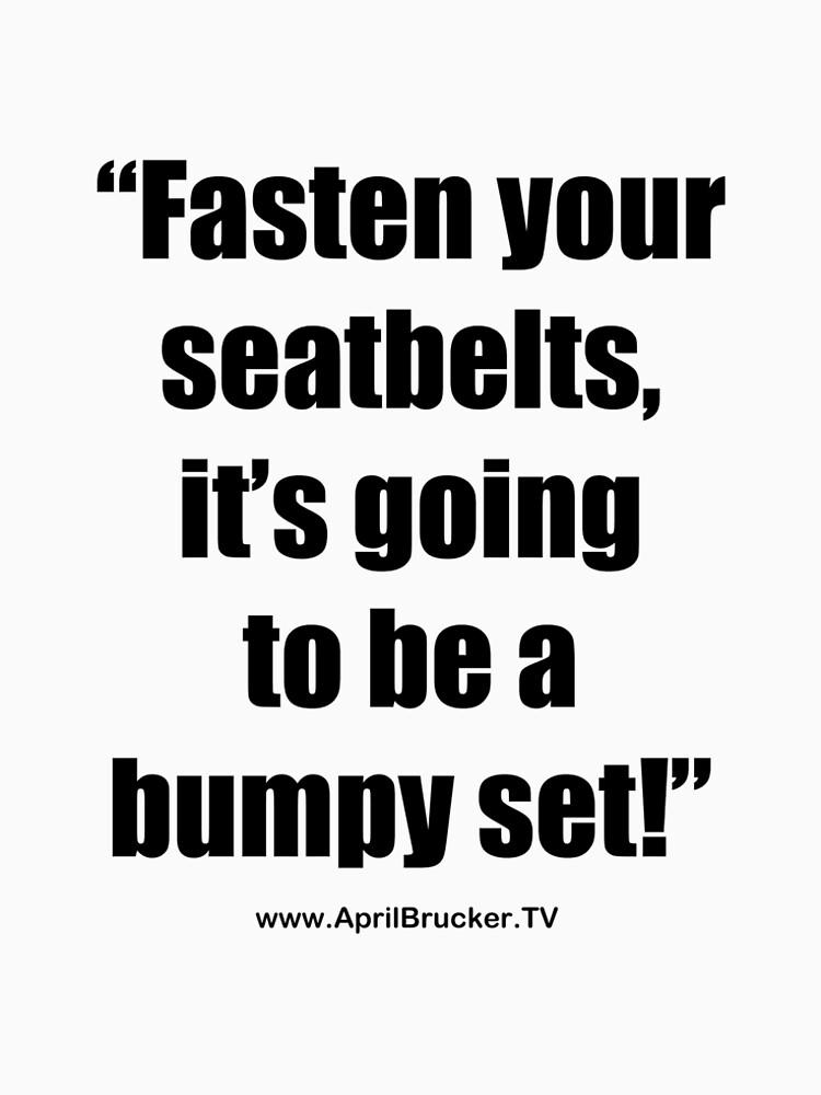 Fasten Your Seatbelts! by AprilB