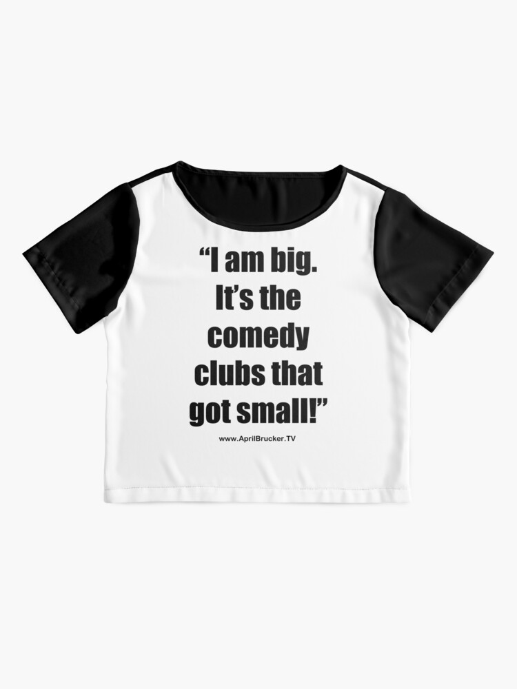 Alternate view of The Comedy Clubs Got Small! Chiffon Top