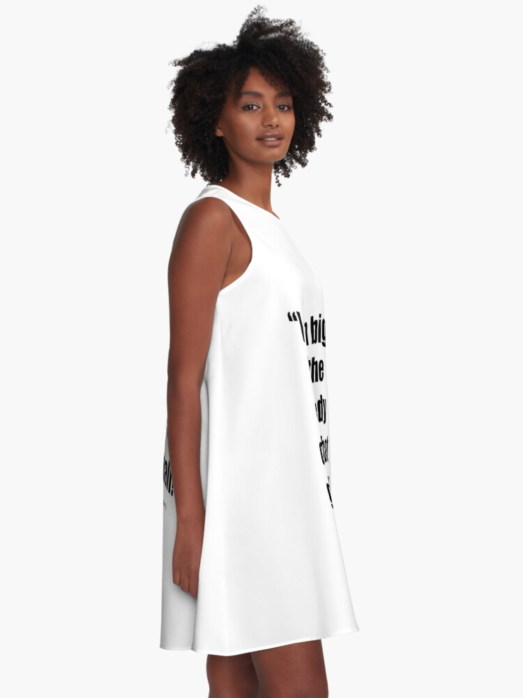 Alternate view of The Comedy Clubs Got Small! A-Line Dress