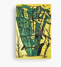 FOREST EATERS Canvas Print