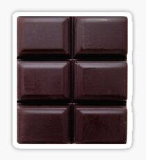 6 pack chocolate abs Sticker