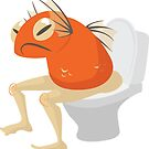 Fishbutt: Orange: Constipation by Mina Roy