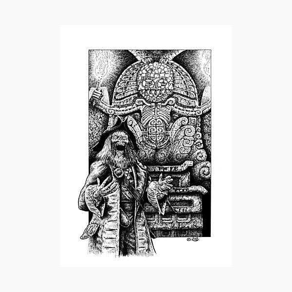 Cinnabar Undead Photographic Print