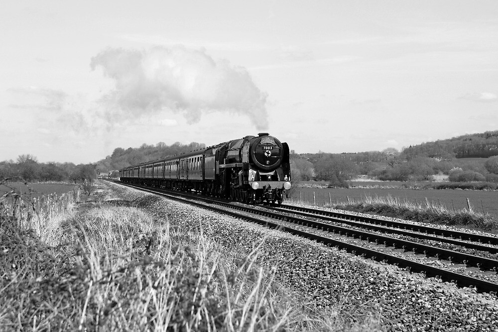 Steam Train in England by Chris L Smith