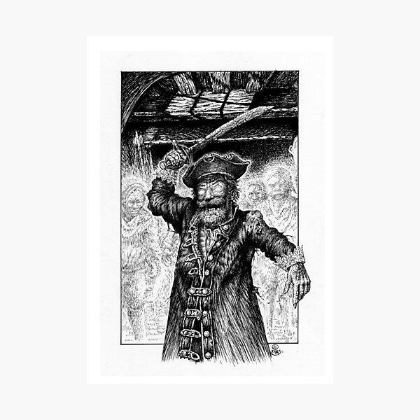 Captain Velyarde Photographic Print
