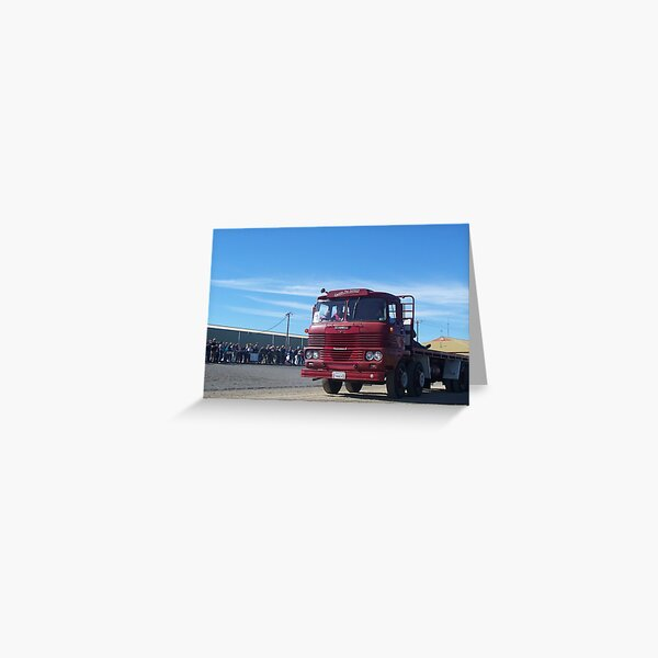 1972 Scammell Routeman MkII - 39662H Greeting Card