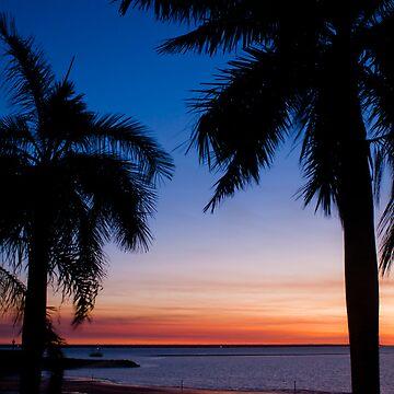 Cullen bay, sunset by Jarivip