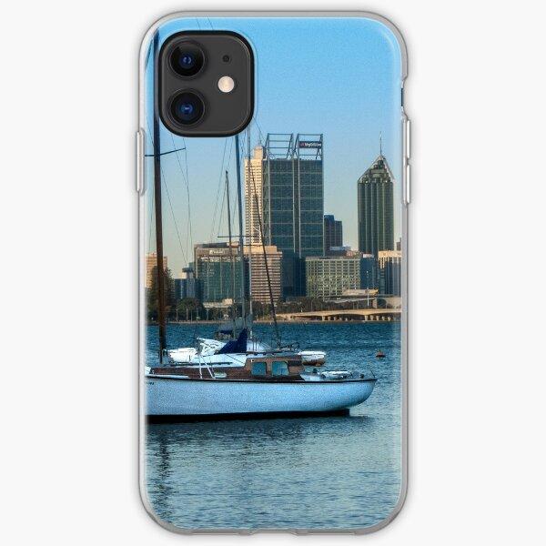 Perth Skyline from Matilda Bay iPhone Soft Case
