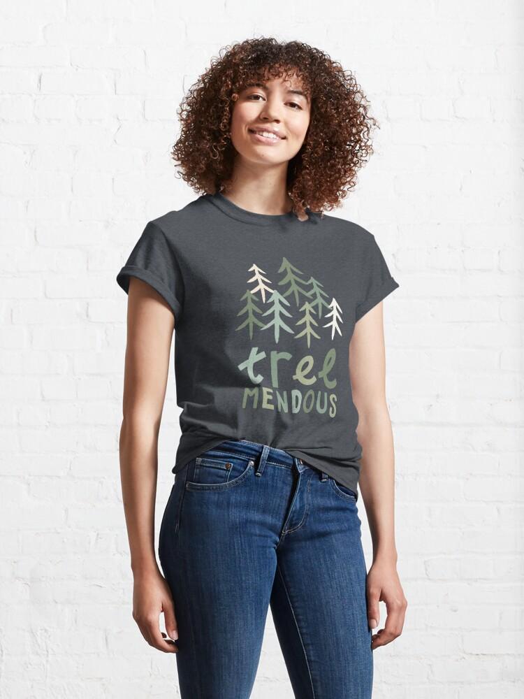 Alternate view of TREE-mendous Classic T-Shirt