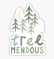 TREE-mendous Sticker