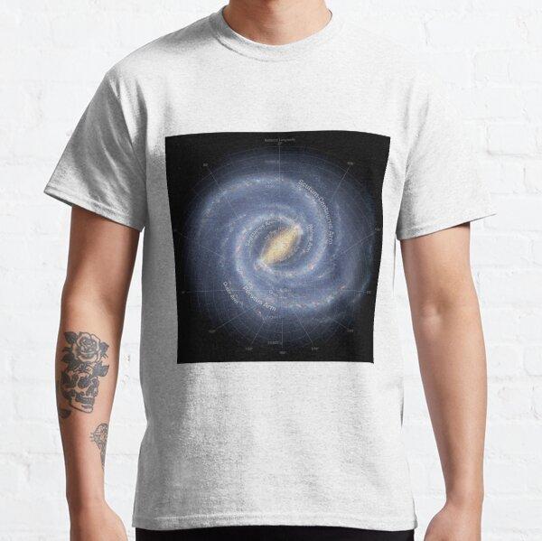 Milky Way Galaxy - #MilkyWay #Galaxy,  Classic T-Shirt