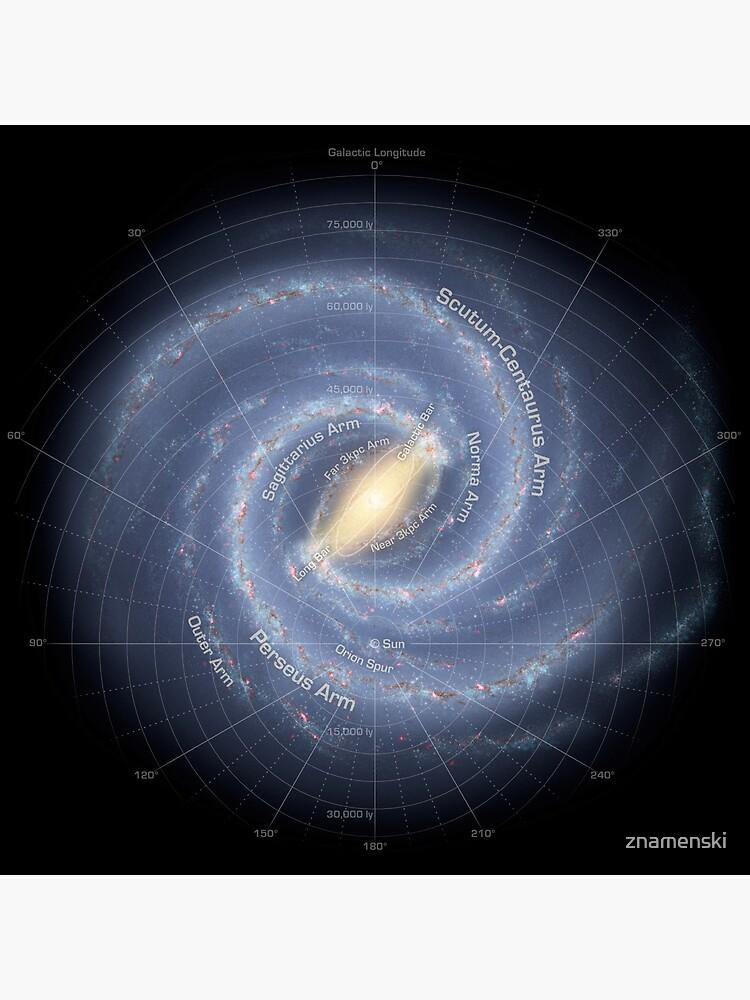 Milky Way Galaxy - #MilkyWay #Galaxy,  by znamenski