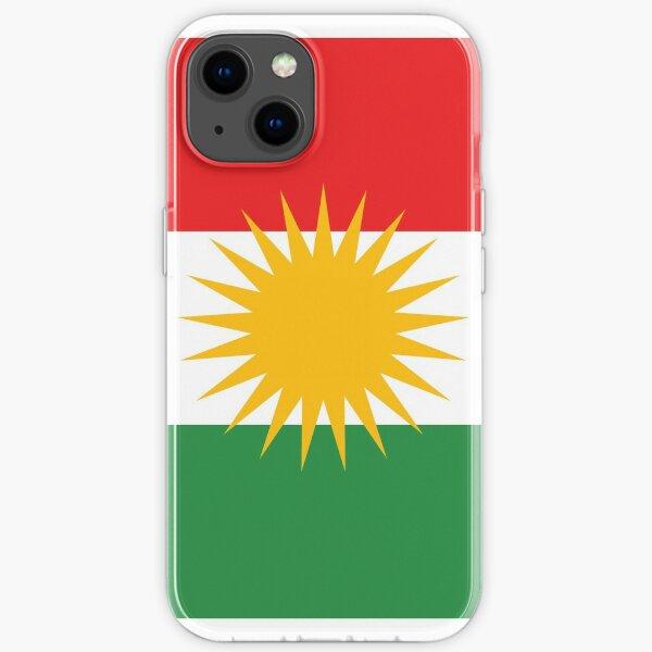 Kurdische Flagge iPhone Flexible Hülle
